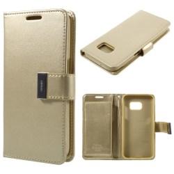 MERCURY Goospery Rich Diary Samsung Galaxy S7 - Champagne