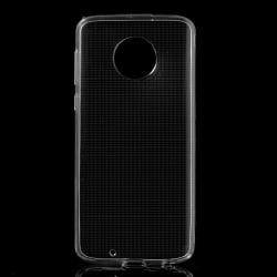 Motorola Moto G6 Slimmat TPU skal TRANSPARANT Transparent