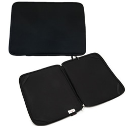"""Neoprene Fodral/Sleeve till 15-17"""" Laptop Notebook Svart"""