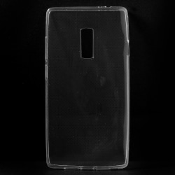 OnePlus 2 Slimmat TPU skal TRANSPARANT Transparent