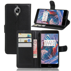 OnePlus 3 / 3T Litchi Plånboksfodral / fodral
