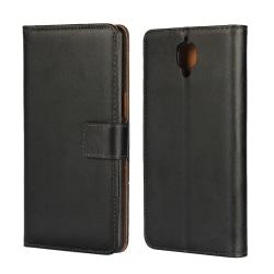 OnePlus 3 / 3T Plånboksfodral Läder Svart