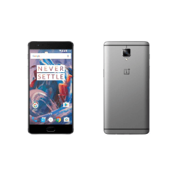 OnePlus 3 Skärmskydd x2 med putsduk Transparent