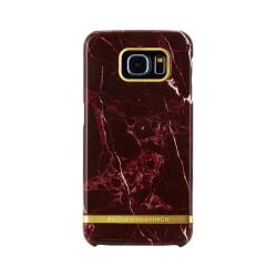 Richmond & Finch skal till Samsung Galaxy S6 Edge - Red Marble Röd