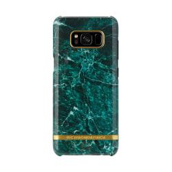 Richmond & Finch skal till Samsung Galaxy S8 Plus - Green Marble Grön