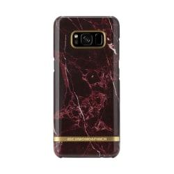 Richmond & Finch skal till Samsung Galaxy S8 Plus - Red Marble Röd