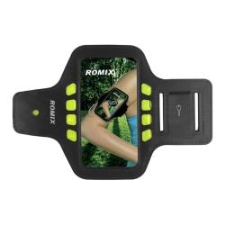 ROMIX Sportarmband till iPhone 6 med LED lampa - SVART Svart