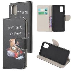 Samsung Galaxy A71 Plånboksfodral  - Angry Bear Black