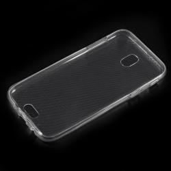 Samsung Galaxy J3 (2017) TPU skal Transparant Fram och baksida Transparent