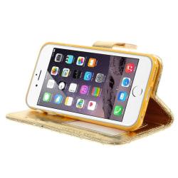 Samsung Galaxy Note 5 plånboksfodral Guld Guld