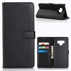 Samsung Galaxy Note 9 Stilrent plånboksfodral - Svart Svart