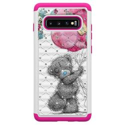 Samsung Galaxy S10+ TPU-Skal Armor Extra Tåligt - Bear Svart