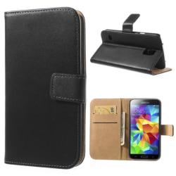 Samsung Galaxy S5 Plånboksfodral / fodral SVART Svart