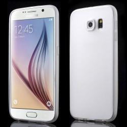 Samsung Galaxy S6 SM-G920F Matt TPU skal TRANSPARANT Transparent