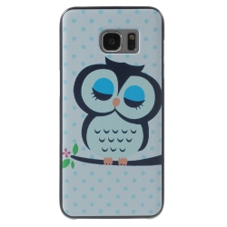Samsung Galaxy S7 Edge Frosted Skal - Sleeping Owl