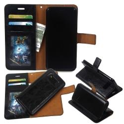 Samsung Galaxy S8 - 2 i1  plånboksfodral / Skal - Svart Svart