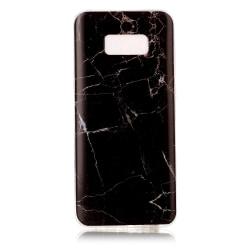 Samsung Galaxy S8 Plus TPU Marmor - Svart Svart