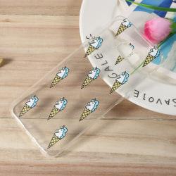 Samsung Galaxy S8 TPU skal - Unicorn Ice Cream Transparent