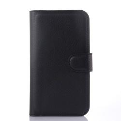 Samsung Galaxy Xcover 3 plånboksfodral SVART Svart