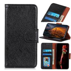 Samsung Galaxy Xcover Pro Plånboksfodral Textured Split - Svart Svart