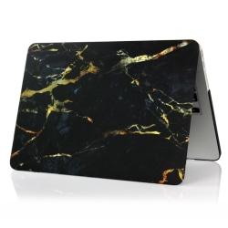"Skal Till MacBook 12"" Marmor Gul / Svart Svart"