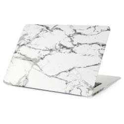 """Skal Till MacBook Air 13"""" Marmor - Grå / Vit Vit"""