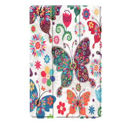 Slim Fit Cover Till Samsung Galaxy Tab A 10.1 2019 - Butterfly a Black