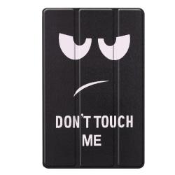 Slim Fit Cover Till Samsung Galaxy Tab A 10.1 2019 - Don't touch Svart