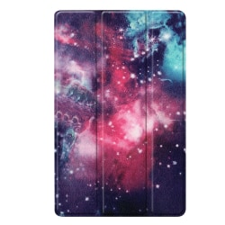 Slim Fit Cover Till Samsung Galaxy Tab A 10.1 2019 - Galaxy Patt Svart