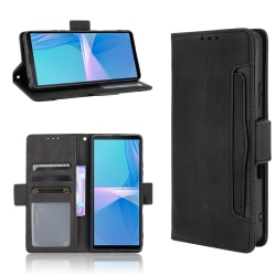Sony Xperia 10 III Plånboksfodral  - Svart Svart