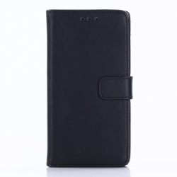Sony Xperia XZ1 Compact Retro Plånboksfodral - Svart Svart