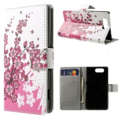 Sony Xperia Z3 compact Plum Blossom Plånboksfodral multifärg