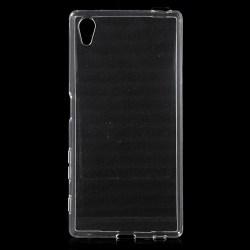 Sony Xperia Z5 Slimmat TPU skal TRANSPARANT Transparent