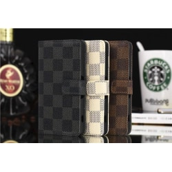 Sony Z3 Compact Plånboksfodral / Fodral Rutigt Black Vit/Svart