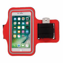 Sportarmband till iPhone 6/7/8/SE 2020 - Röd Röd