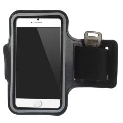 Sportarmband till iPhone SE 2020/8/7/6 SVART Svart