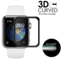 Skärmskydd till Apple Watch 5 - HELTÄCKANDE FullCover 44/40 44 mm