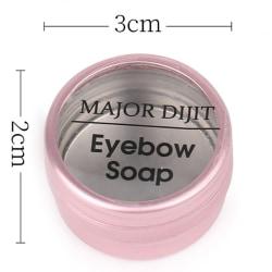 1PC Fjäderliknande ögonbrynsformande tvål Långvarig ögonbrynsmakeup