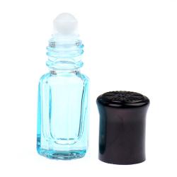 1st 3 ml tom eterisk olja parfymflaska rullkula glas C Blue