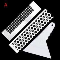 2 delar 5D diamantmålningsverktygslinjal och 1 diamantmålning F