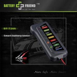24V fordonsbatteriladdningsanalysator 24 volt bildiagnos