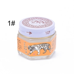 25g Original Tiger Red White Balm Thai Massage Ointment Relief  1#