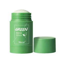 2pcs Green Tea Stick Natural Mask Eggplant Cleans Pores Mask 2pcs-Green Tea