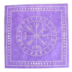 50 * 50 cm fiberduk Tarot bordsduk Rune Divination Altar Patch T