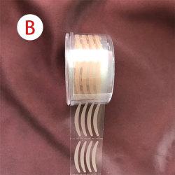 600st osynliga ögonlock klistermärke spets ögonlift remsor tejp vidhäftning