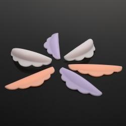 6PCS Eyelash Perm Silicone Pad Recycling Lashes Rods Lifting 3D 4