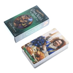 78st Oracle Tarot Cards The Green Witch Tarot Oracle Card Boar