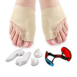 7pcs/set bunion sleeves hallux valgus corrector alignment toe s