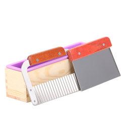 900/1200g Silcone Soap Mould Rectangular Toast Loaf Mold Soap M Purple 1.2kg