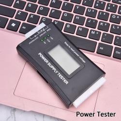 atx strömförsörjning testning dator värd LCD-display chassi ström Onesize